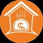 Logo-TiAffitto-con-Riscatto---Simbolo---Cerchio-Arancione